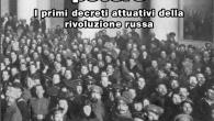 Cento anni dalla Rivoluzione russa, ognuno la racconta secondo i propri interessi di classe. I ricchi la maledicono, gli storici borghesi la reinterpretano come un colpo di stato di un...